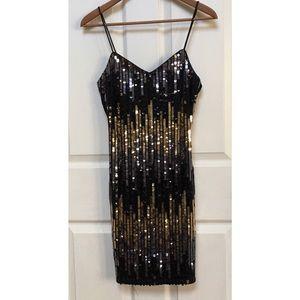 Vintage 90s Sequin Dress